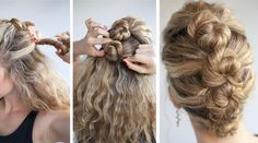 Click Pic for 7 Easy DIY Wedding Hairstyles - The French Roll Twist & Pin - How to do Hair Styles for Long Hair - Short Hair