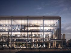 Image 1 of 22 from gallery of Serie Architects Releases RCA Battersea Campus Proposal. Courtesy of Serie Architects