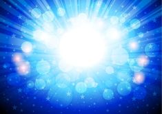 Free Abstract Blue Bokeh Background Vector Art #freebies