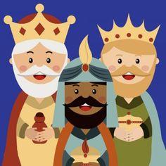 Christmas Song. Los Reyes Magos Christmas Jesus, Christmas Nativity Scene, Christmas Gift Tags, Christmas Colors, Christmas Art, Christmas Decorations, Christmas Coloring Sheets, Nativity Silhouette, Kings Day