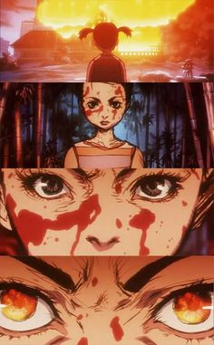 My favourite part of Kill Bill O-Ren Ishii @ Kill Bill #anime, By: Katsuji Morishita
