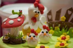 gallina in pasta di zucchero di Omar Busi