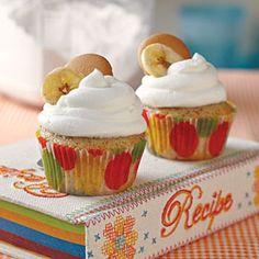 Banana Pudding Cupcakes from Jan Moon, @dreamcakesbham from MyRecipes.com