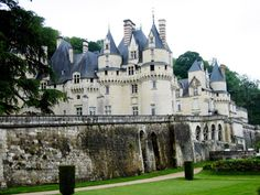 Chateau d'Usse (France) - Sleeping Beauty's inspiration