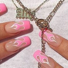 41 Trendy Ideas For Nails Fake Matte Acrylics Best Acrylic Nails, Acrylic Nail Designs, Aycrlic Nails, Hair And Nails, Coffin Nails, Pink Coffin, Zebra Nails, Fantastic Nails, Nagel Tattoo