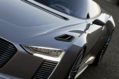 2014 Audi e-tron Spyder Concept Car