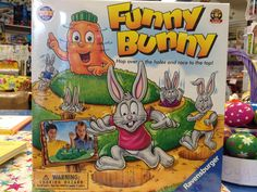 """Great fun for the whole family - much better as the """"big"""" Easter Egg Hunt pressy than a giant bar of chocolate... really!"""