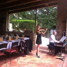 Casaments i festes a la terrassa de #calamaria Ca la Maria #restaurant #gastronomia #Km0 #slowfood