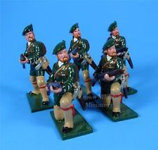EA10 - French & Indian War - Rogers Rangers At the Ready - Soldiers of the World