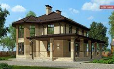 Проект дома C-188 - Проекты домов и коттеджей в Москве Gazebo, Pergola, Outdoor Structures, How To Plan, Mansions, House Styles, Outdoor Decor, Home Decor, Home Plans