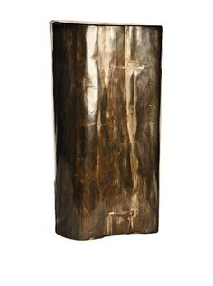 42% OFF Foreign Affairs Paleo One of A Kind Petrified Wood Table, Black