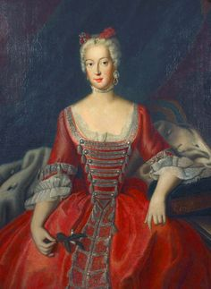 Wilhelmine of Prussia, Margravine of Brandenburg-Bayreuth (1711–1763) by Antoine Pesne