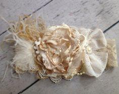 En la costura de cozette diadema de flor del por CozetteCouture