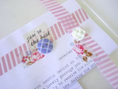 Nadia van der Mescht: Snail Mail Ideas: Wrapping Inspiration