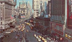 Times Square in 1945.