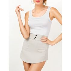 Color : White Material : Polyester Neckline : Scoop Neck Pattern Type : Patchwork The post Sleeveless Two Tone Mini Bodycon Sundress appeared first on Power Day Sale. Cheap Summer Dresses, Summer Dresses For Women, Stylish Dresses, Sexy Dresses, Sheath Dresses, Mini Dresses, Club Dresses, Bodycon Outfits, Sexy Outfits