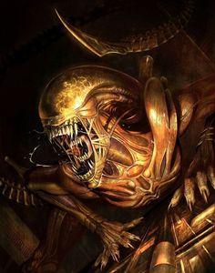 Predator Movie, Predator Alien, Alien Tattoo Xenomorph, Aliens, Hr Giger Art, Alien Resurrection, Alien Isolation, Alien Covenant, Creepy Photos
