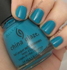 **China Glaze - Shower Together (Eco Collection Spring 2008) / AllLacqueredUp