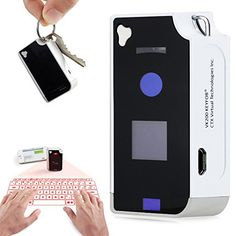 Virtual Laser Projected USB Bluetooth Keyboard & Touchpad