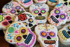dia de los muertos sugar skull - Google Search