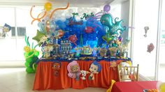 Buble guppies • - Rumba Magica Sala de Fiesta Infantil Panama
