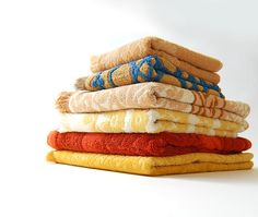 Lot of 6 Vintage Towels . Cotton Terry Cloth. $26.00, from shopgoodgrace.