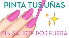 Como pintar as unhas sem sair em 5 etapas – Nailistas Pink Nail Art, Cool Nail Art, Crazy Nails, Fun Nails, Paris Nails, Prego, Go Outside, Nail Arts, Manicure And Pedicure