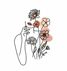 Arte Inspo, Abstract Line Art, Art And Illustration, Illustrations, Art Drawings Sketches, Tattoo Drawings, Tattoo Sketches, Tattoos, Minimalist Art