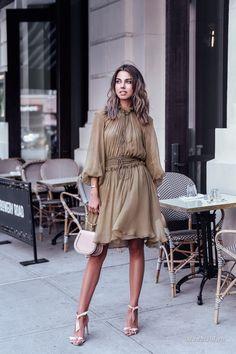Уличная мода: Лучшие модные образы за неделю: Kim Le, Adelina Perrin, Annabelle Fleur и другие