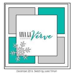 Hi Verve fans! Our sketch challenge is on holiday this month so our design team can spend time with their families instead of meeting deadl...