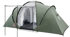 Coleman Ridgline Plus 4 Four Person Tent Best Family Camping Tents, Camping Places, Camping Glamping, Best 4 Person Tent, 3 Season Tent, Tent Reviews, Pvc Windows, Dome Tent, Shopping