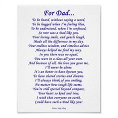 in loving memory card keepsake grave dad daddy grandad ect fathers  for dad
