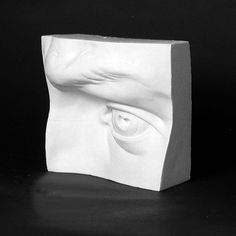 Drawing Plaster Cast Eye - Natural Pigments