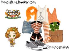 Harvest Moon A New Beginning Tina on polyvore by hmsisters