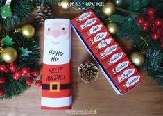 Caixa de bis - Papai Noel - para imprimir