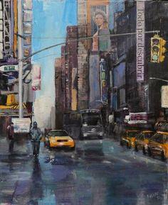 NYC. 46x38cm. 2012.