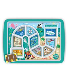 Look what I found on #zulily! Pirate Dinner Winner Plate by Fred & Friends #zulilyfinds
