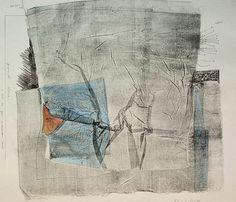 83-L-D-4monotype print, drawing林孝彦 HAYASHI Takahiko 1983