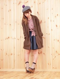 A coat which will keep you warm and happy for the winter ; )