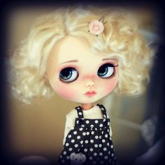 """10-11"""" BEAUTIFUL Marilyn Blond doll WIG for Blythe and Neo Blythe Custom"""