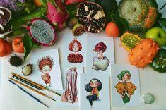 Marija Tiurina Illustrations