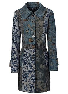 Hotchpotch Jacquard Coat