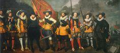 Men from the Company of Captain Abraham Boom and Lieutenant Oetgens van Waveren, 1623  Nicolaes Lastman