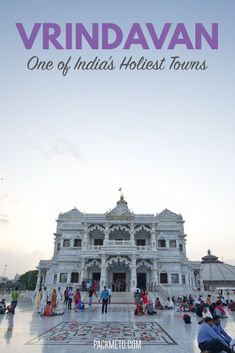 Between New Delhi and Agra, explore the relatively unknown town of Vrindavan, one of India's holiest towns.