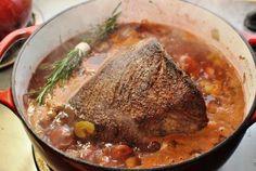 Ina Garten's Company Pot Roast.  It's the only Pot Roast recipe I use, always a hit. @ina Garten