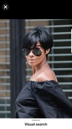Quick Weave Hairstyles, Short Hairstyle, Straight Hairstyles, Girly Stuff, Girly Things, Pixie Styles, Hair Styles, Cute Bob, Pixie Crop