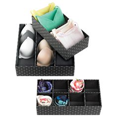 Add style to storage with our Milano Drawer Organizers