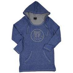 McKevlin's - Kemp Circle Women's Hoodie Tunic - Blue