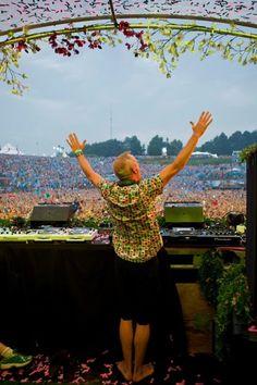 Fatboy Slim at Tomorrowland 2012  #tomorrownland #tomorrowland2012