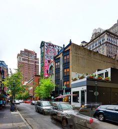 Panorama 1791_blended_fused on Flickr.Via Flickr: Midtown Village Drury Street / South 13th Street Philadelphia